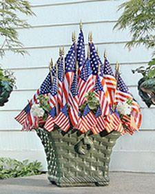 Flag Planter - Martha Stewart Holidays