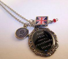 Dr Who Necklace Dr Who Necklace Dr Who Necklace