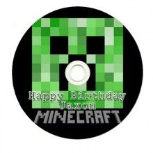 Minecraft Personalized CDR