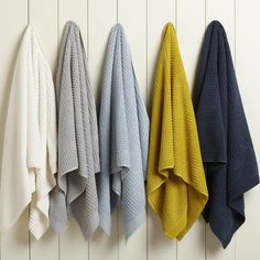 Coyuchi Bath Towels....100% Organic Cotton.