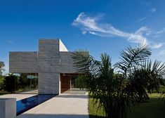 This cross-shaped chapel in Brazil was designed by architect Gustavo Penna.