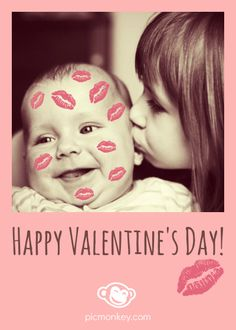 PicMonkey's Lips overlays are a fun way to add some valentine love to your photos