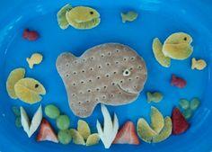 great use of goldfish bread!!! so creative!