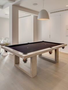 Indoor Pool Table by James DeWulf at Gilt