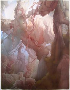 """❥ """"The Underside of Up"""" by Art Venti (color pencil on watercolor paper)"""
