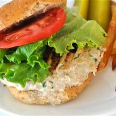 Actually Delicious Turkey Burgers Allrecipes.com - substitute soy sauce for salt, whole egg for egg whites, Italian breadcrumbs for regular ones (larger serving)
