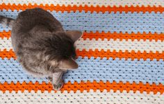 Granny stitch. Like granny squares but in a straight line!