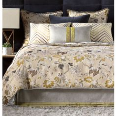 Claire Bedding Collection at PoshLiving.Com