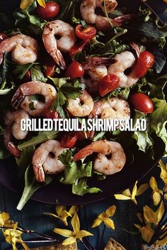 Tequila Shrimp Salad