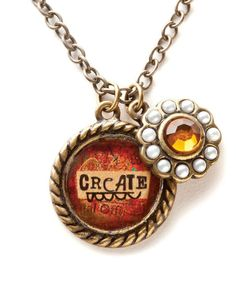 Inspirational 'Create' Pendant Necklace.