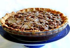 Sweet Potato Pie with Pecan Topping (photo)