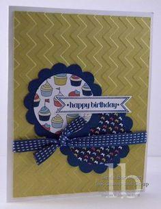 bitty banner framelits happy birthday