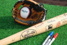 cool idea for my son's baseball themed birthday party