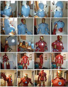 iron man cosplay construction