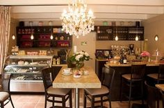 """Just had breakfast here this morning. Pastries and Petals, Carmel-by-the-Sea. It's my new """"happy place""""."""