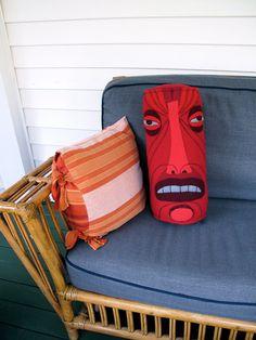 Tiki pillow!