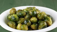 Maple Roasted Brussels Sprouts - easy side dish for the holidays