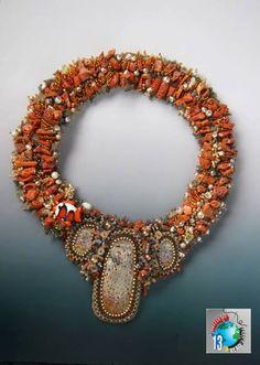 """Jean Upton: """"Ancient Coral Sea"""""""