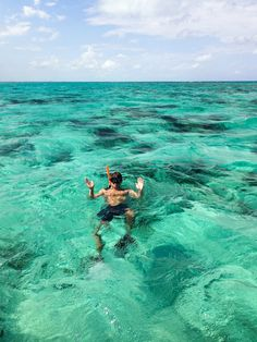 Snorkeling on Grand Cayman