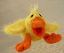 Felt Duck craft felt craft, felt duck, duck craft