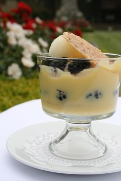 lemon ginger mousse lemon ginger mousse coupe meyer lemon lace tuiles ...