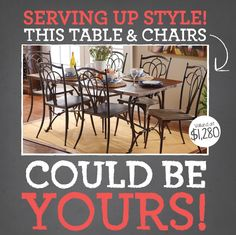 Serving up Style Giveaway! - Find out how to enter on the My Kirklands Blog