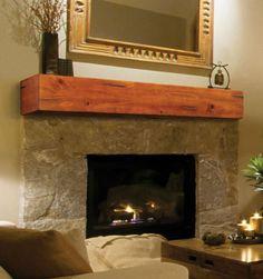 Shelves mantel and decorative on pinterest mantels dune - Pierre decorative pour foyer ...