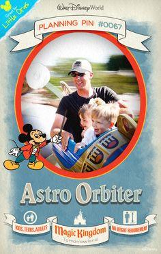 Walt Disney World Planning Pins: Astro Orbiter