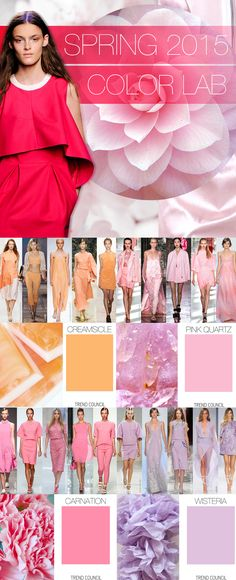 color ss 2015, 2015 colors, 2015 color trends, 2015 spring colors, color lab, color trend 2015, color 2015, 2015 trend, spring 2015 color