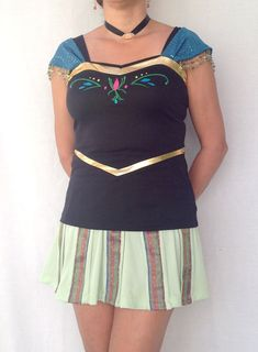 Anna Coronation inspired complete running outfit on Etsy, $155.00