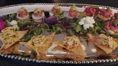 Hors D'oeuvres to present to client before guests arrived