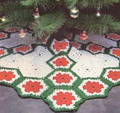 Free Crochet Patterns: Free Crochet Christmas Tree Skirt Patterns