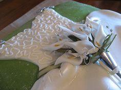 bridal shower cake by Taste of Bliss, via Flickr