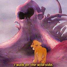 I walk on the wild side