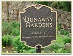 Although I've lived just a few miles from DUNAWAY GARDENS for most of my adult life, I've never been there to explore!  I would LOVE to visit some day.