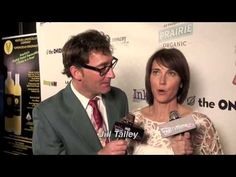 Mr Spongebob! Tom Kenny with the lovely Jill Talley @ LA Comedy Shorts Film Festival.