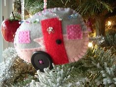 Canned Ham Ornament