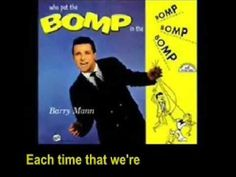 Who Put The Bomp - Barry Mann
