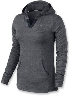 The lightweight Nike Element hoodie for women has a velvety touch, a warm hood and moisture-wicking fabric. #REIGifts