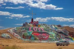 Salvation Mountain, The Slabs, Salton Sea, CA-gonna go there too
