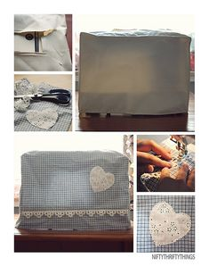 Sewing Machine Cover ... I just bought material to make one and now I have a pattern
