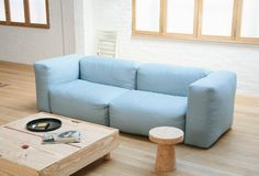 Superoblong sofa - Cappellini, Jasper Morrison