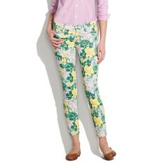 elizabeth and james low rise skinny jeans in tropical