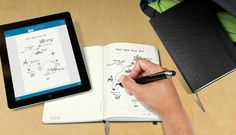 This Moleskine notebook syncs with your iPhone.
