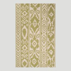 One of my favorite discoveries at WorldMarket.com: Green Lucine Flat-Woven Wool Rug