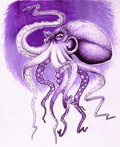 Octopus by NickShev.deviantart.com on @deviantART