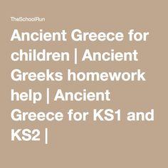primary homework help ancient greece