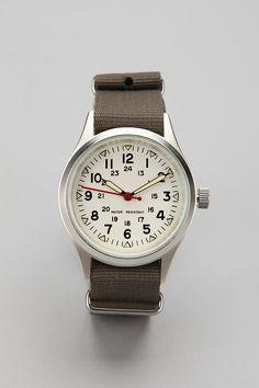 Classic Field Watch $40