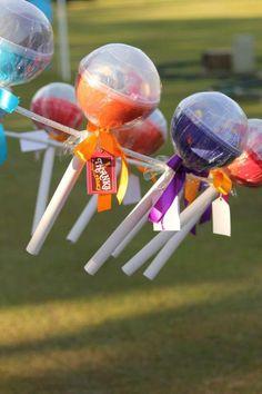 Incredible Willy Wonka themed birthday party Via Kara's Party Ideas