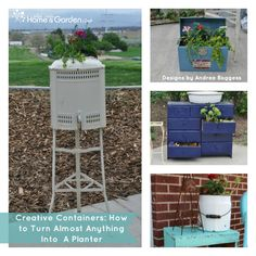 Creative Containers: How to Turn Almost Anything Into A Planter